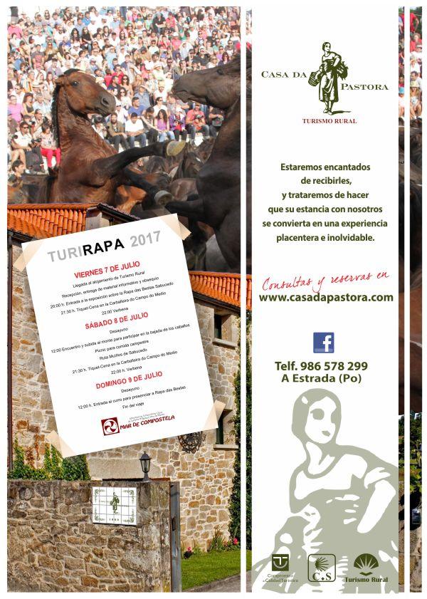 Oferta Casa Rural Casa da Pastora Turirapa Rapa das Bestas Sabucedo A Estrada 2017