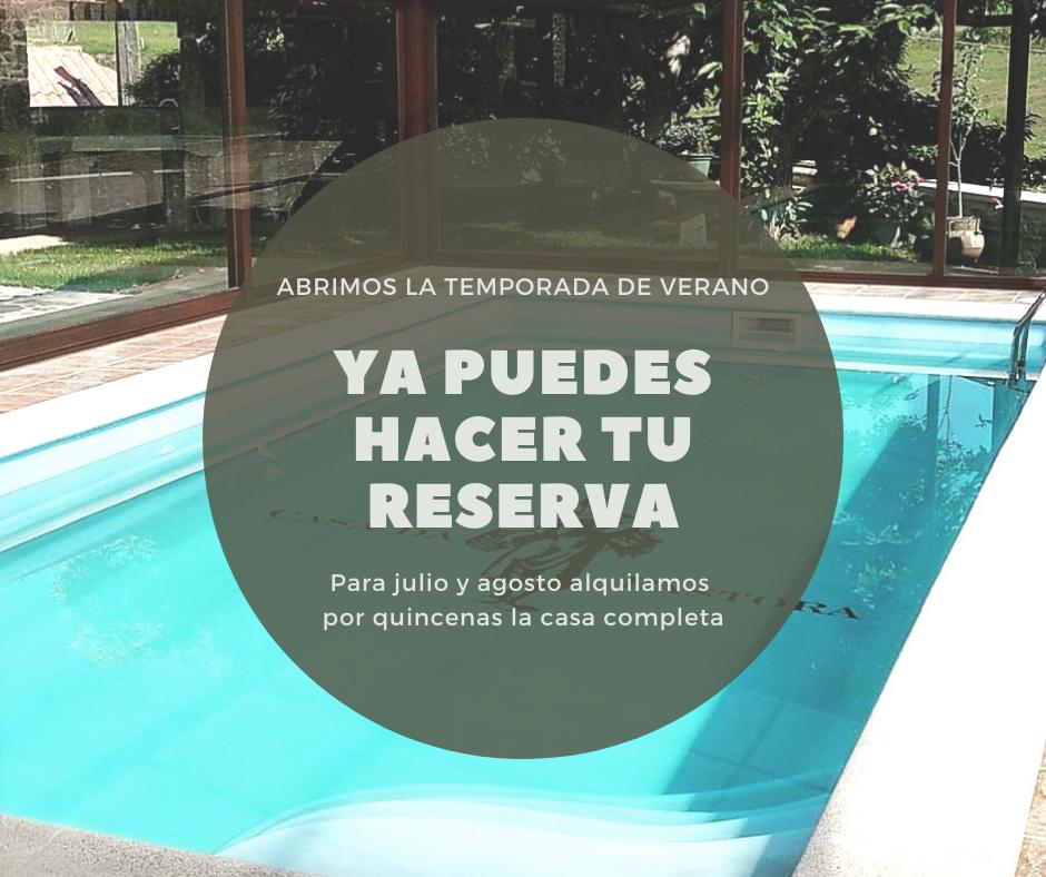 reserva casa completa galicia julio agosto